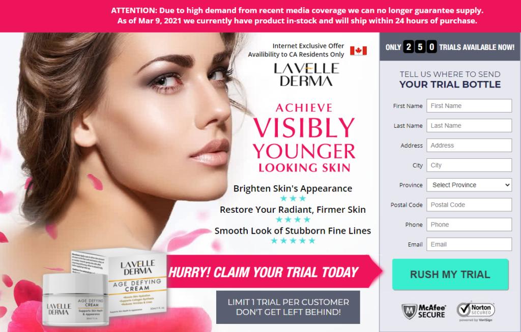 Lavelle Derma Cream Canada