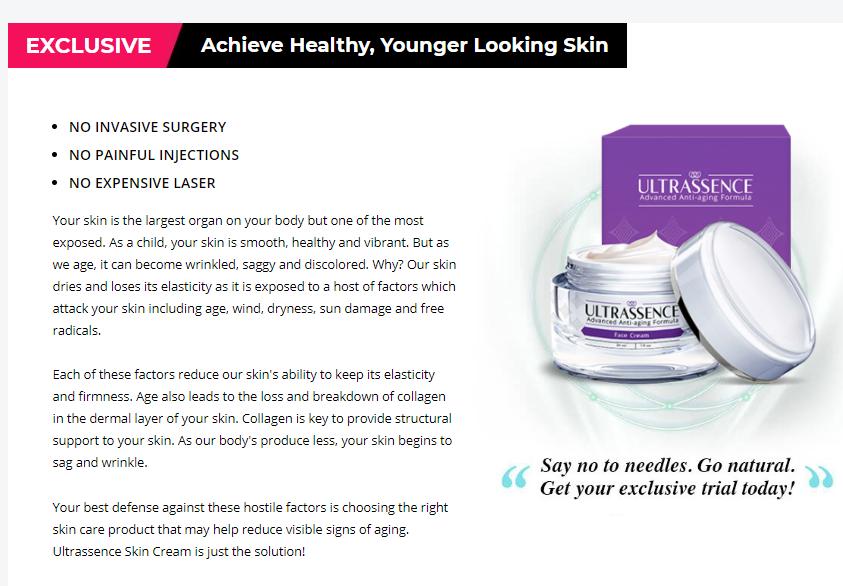 Ultrassence Cream Skin